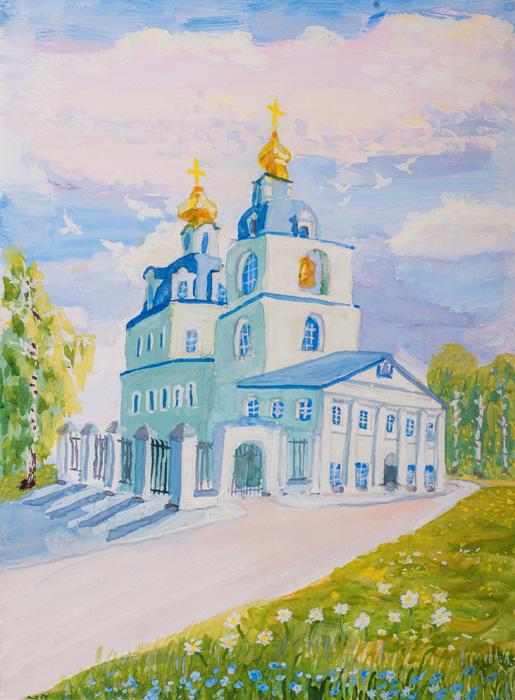 Валентин, храмы россии картинки детей