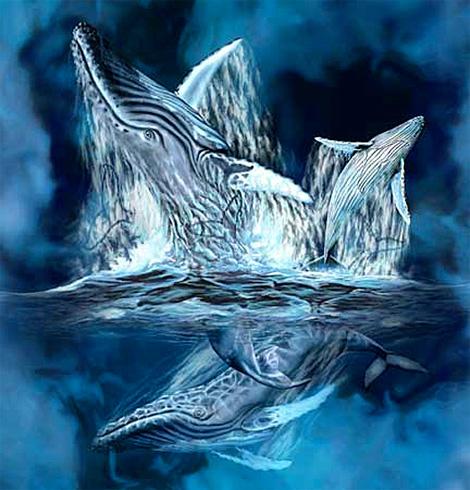 Хвосты китов (11) :: картина-загадка :: Стивен Гарднер